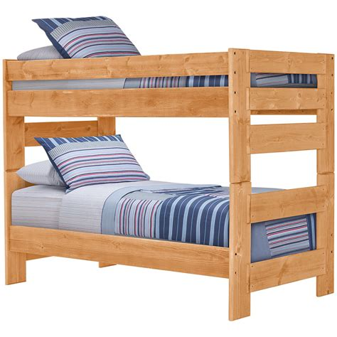 Mid Bunk Bed City Furniture Cinnamon2 Mid Tone Bunk Bed