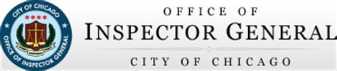 Office Inspector General City Of Chicago Office Of Inspector General Fighting