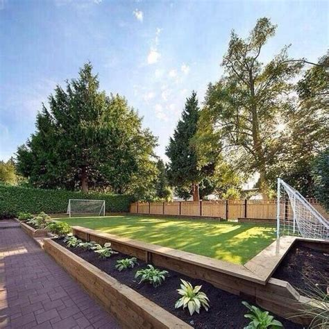 soccer backyard backyard soccer field houses home interior pinterest