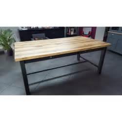 meuble industriel table de salle 224 manger avec tiroir et 2