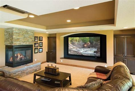 where to place tv in living room with fireplace 30 multifunctional and modern living room designs with tv