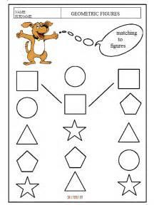 geometric shapes for kindergarten worksheets worksheets