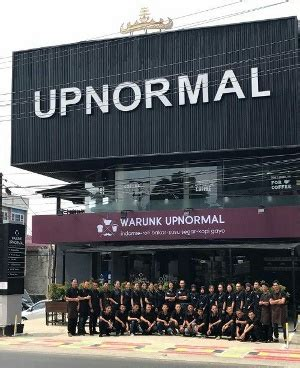 warunk upnormal  rising star indonesia retail outlet