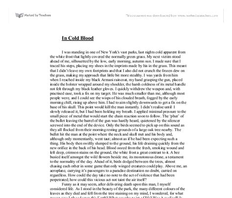 In Cold Blood Essays by In Cold Blood Essay Drugerreport898 Web Fc2