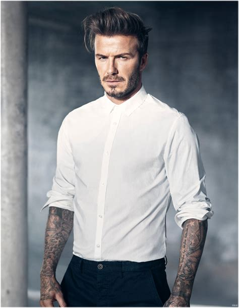 David Beckham In by David Beckham In 2015 H M Bodywear Shoot