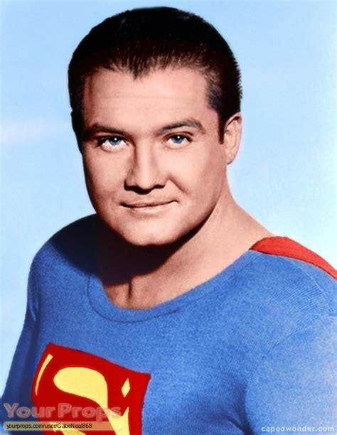 adventures of superman george reeve s costume original tv