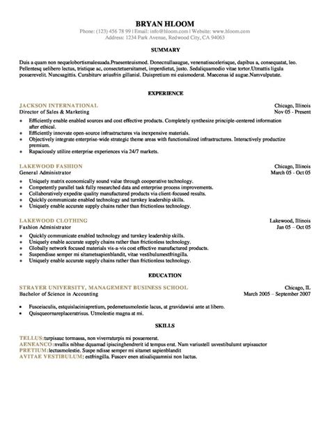 experience resume template resume builder