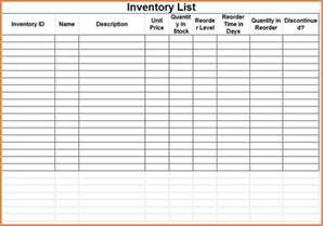 inventory spreadsheet template 3 printable inventory spreadsheet excel spreadsheets