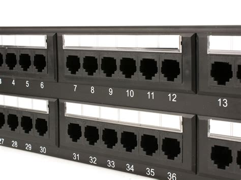 Patch Panel Rack by Networx 96 Port Cat6 Rack Mount Patch Panel 4u