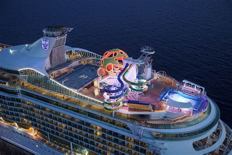 best deck on of the seas of royal caribbean cruise ship s new sports deck
