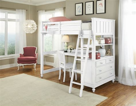 high loft bed with desk ne lake house high loft bed with desk white