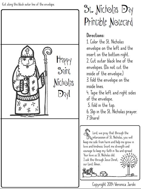 paper dali saint nicholas free coloring page and printable