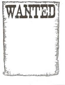 Wanted Poster Template by Wanted Poster Template For Usarmycorpsofengineers