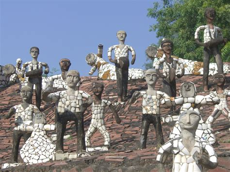 Chandigarh City Guide Chandigarh Travel Attractions Rock Garden Chandighar