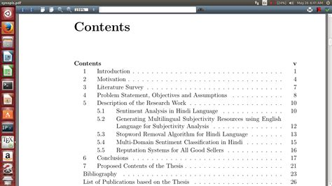 thesis abstract before table of contents templates in my thesis in auto generated table of