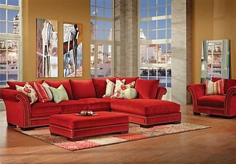 rooms to go cindy crawford sofa cambrian park 3 pc sectional living room at rooms to go