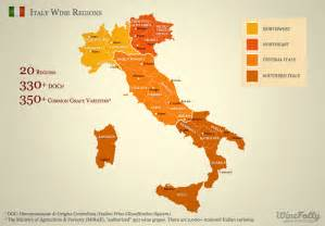 Wine Map Of Italy by Italian Wine Regions Www Imgarcade Com Online Image