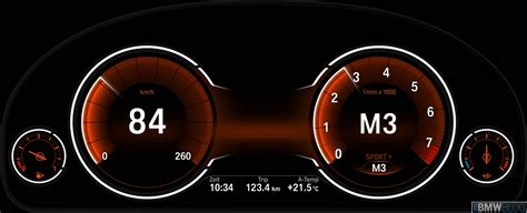 new option for bmw 5 series multifunction instrument display