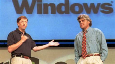 Windows Vista Launch Bill Gates Speech 4 The One Where We Find Out What It Actually Does by Remembering The Windows 95 Launch A Triumph Of Marketing