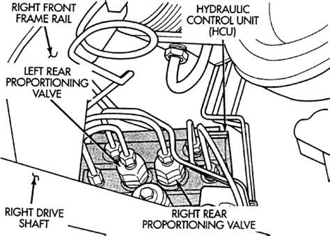 repair anti lock braking 1999 chrysler cirrus parking system repair guides anti lock brake system abs proportioning valves autozone com