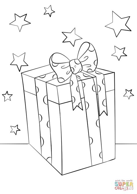 printable gift coloring page christmas gift box coloring page free printable coloring