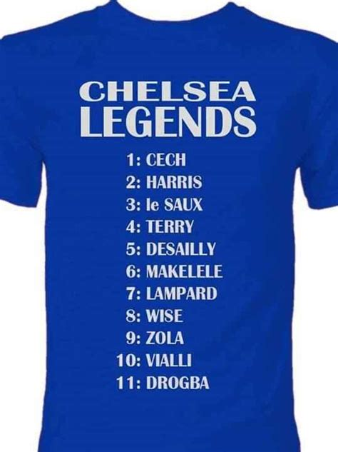 Chelsea Legend | chelsea fc legends chelsea fc it s in the blood