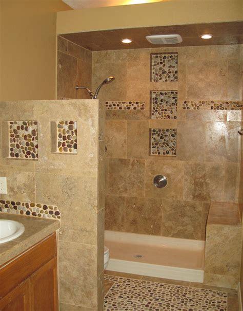 bathroom floor and shower tile ideas bathroom beige pebble shower floor bathroom shower
