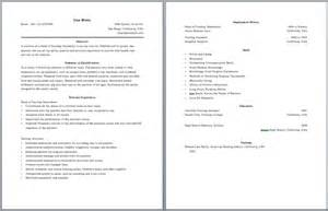 two page cover letter resume exles best two page resume format free two