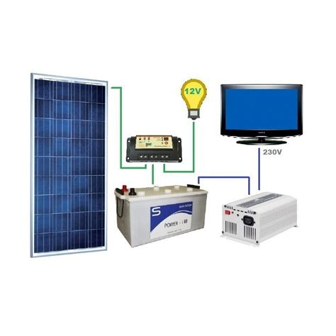 solar energy kits for homes solar kit for country homes 230v
