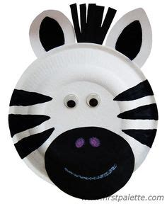 Zebra Paper Plate Craft - 1000 ideas about zebra craft on hippo crafts