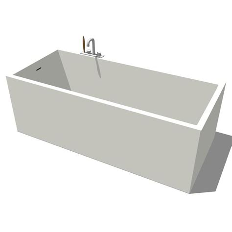 Bathtub Revit by Boffi Mood Bathtub 3d Model Formfonts 3d Models Textures