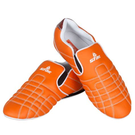 taekwondo shoes kumgang plus orange tkd competition