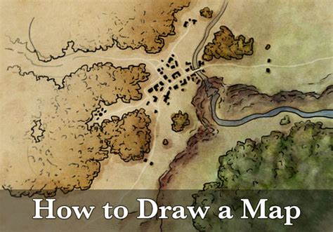 How To Draw A Land Use Map