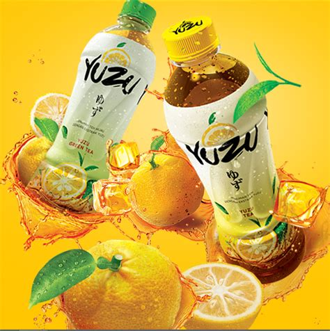 Teh Yuzu kesegaran yuzu dan nikmatnya teh dalam satu tegukan mini
