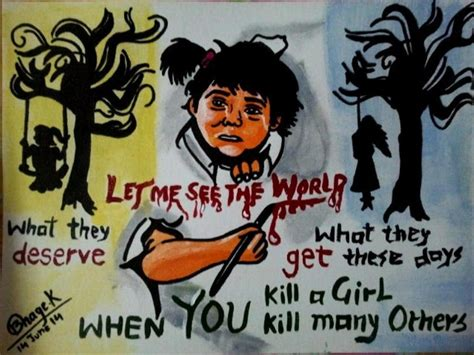 themes on save girl child please suggest poster on save girl child brainly in