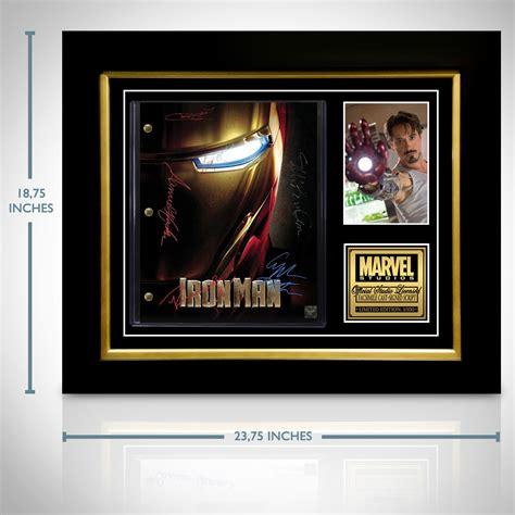 iron man script limited edition custom frame rare