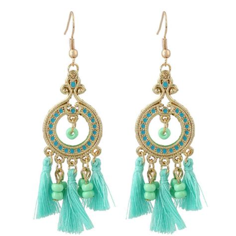 Gelang Fashion High Quality bohemian earing carved anting anting high quality