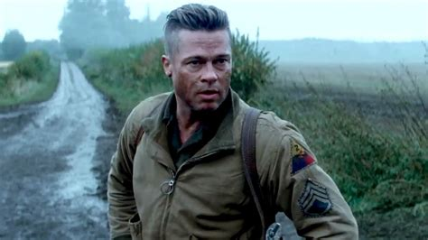 army haircut fury fury official trailer brad pitt 2014 youtube