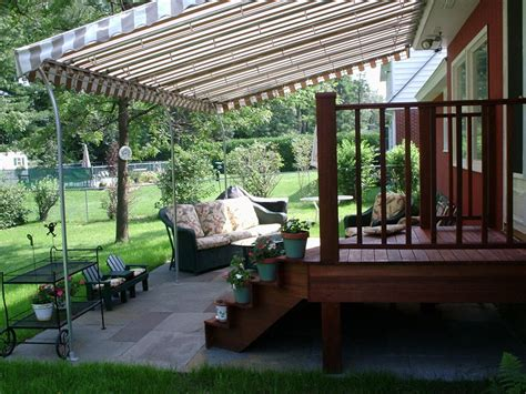 Deck With Awning by Deck Canopies Archives Otter Creek Awnings