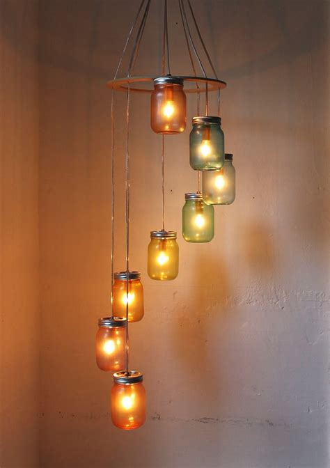 mason jar hanging lights how to create mason jar lighting fixtures homesfeed