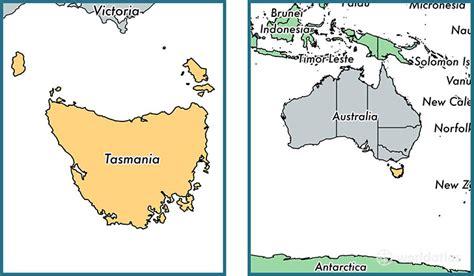 melbourne australia world map where is tasmania state where is tasmania located in