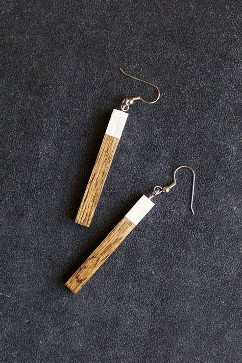 how to make wooden jewelry how to make wooden earrings