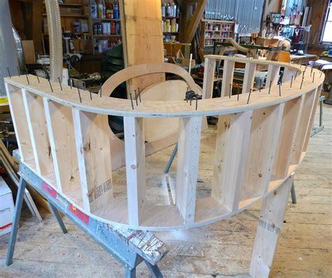 Oval Drop In Bathtub Elliptical Tub Surround Thisiscarpentry