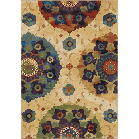 orian rugs layers rainbow orian rugs layers rainbow 5 ft 3 in x 7 ft 6 in area rug 231700 the home depot