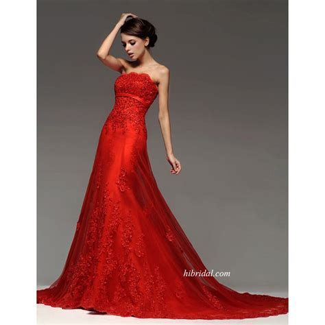 Hochzeitskleider Rot by Wedding Dresses With Color Glamorous Princess Color