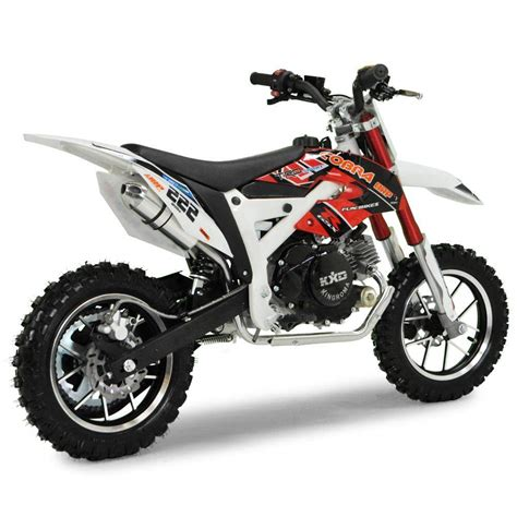 red dirt bike cobra 4s 50cc 62cm red kids mini dirt bike fics motorcycles