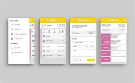 design app bank chebanca mobile banking lumen bigott lumen bigott