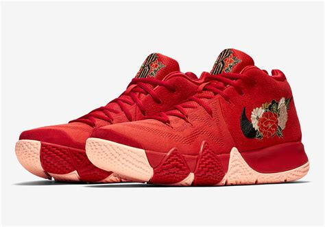 new year 5 release nike kyrie 4 quot new year quot 943807 600 release info