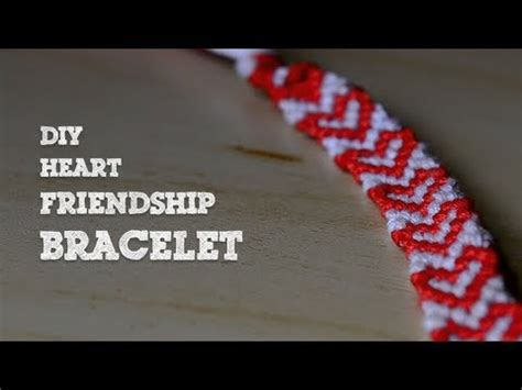 heart pattern friendship bracelet youtube diy heart friendship bracelet youtube
