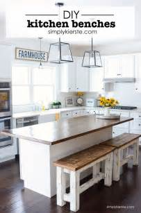 diy kitchen benches these charming farmhouse style are interior design decorating before and after http